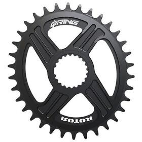 Rotor QX1 Q-Ring Oval MTB Chainring 1x12-speed Shimano black